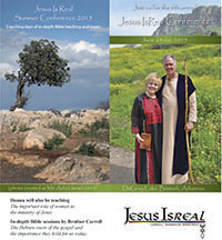 Click for Jesus Isreal Conference Brochure
