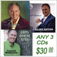 Promotional CD Package - Any 3 CDs